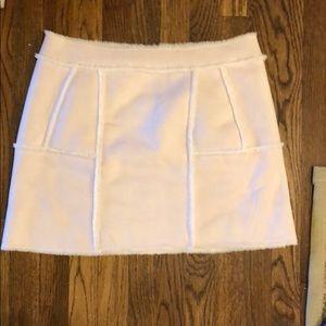 JOA furry skirt